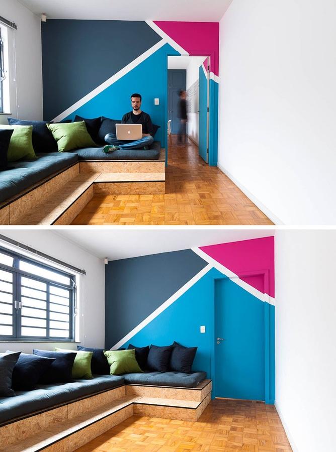 Idée De Décor De Mur Créez Une Peinture Murale Moderne