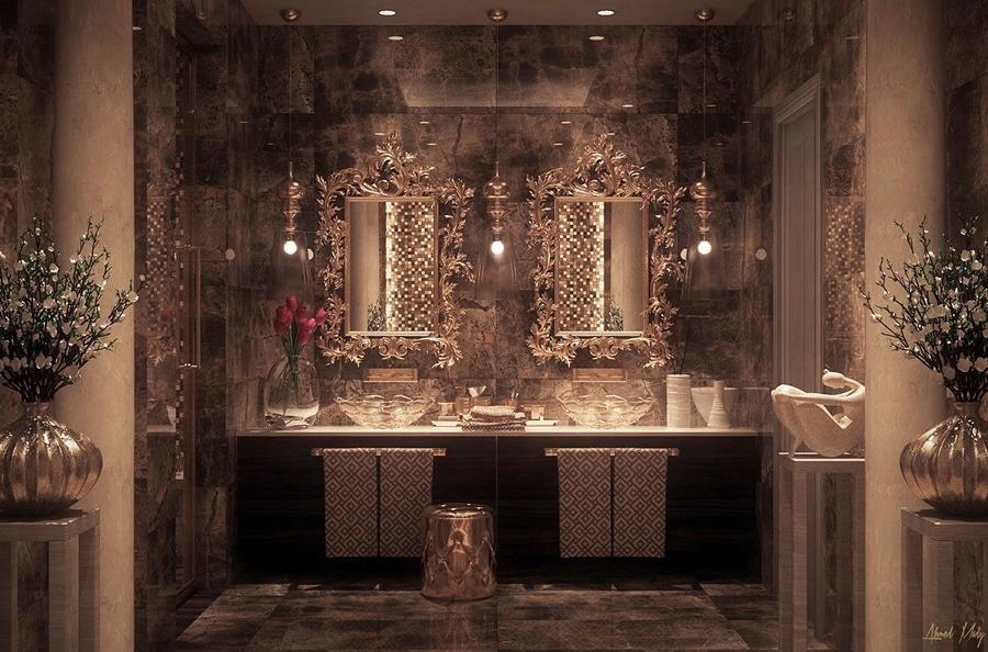 Inspiration ultra de luxe de salle de bains - Florida, USA