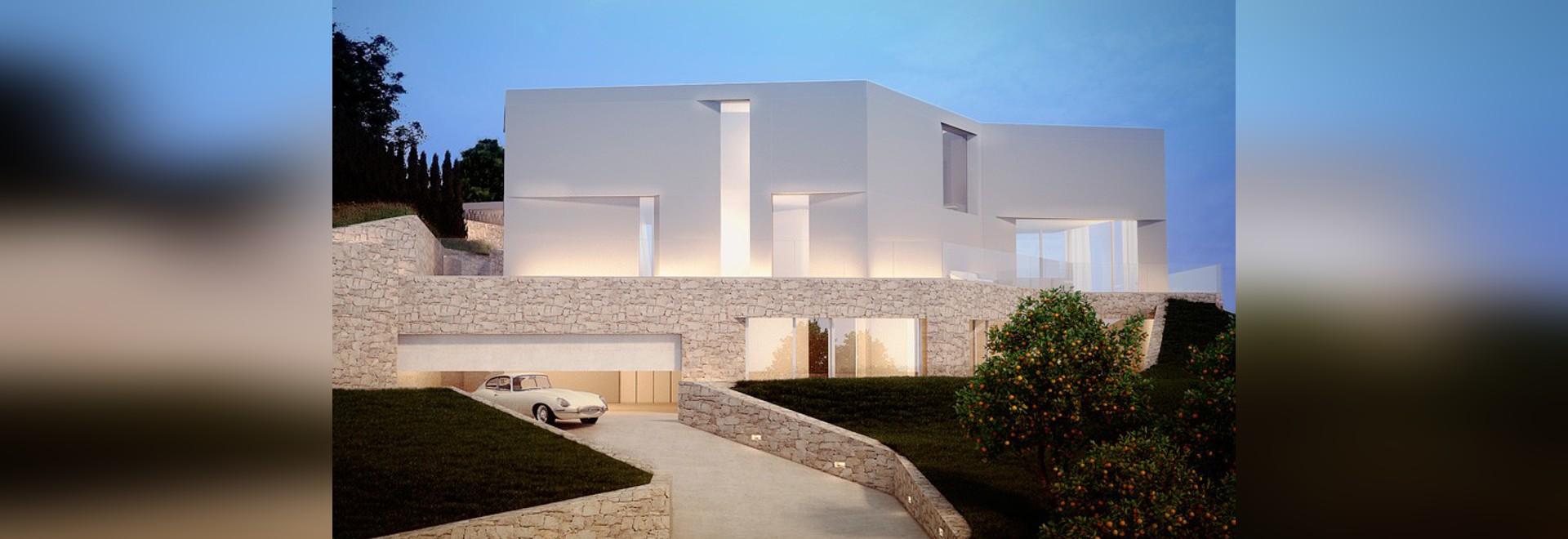 l'ambolo de cala de maison par l'esteve de ramón présente des vues du littoral méditerranéen
