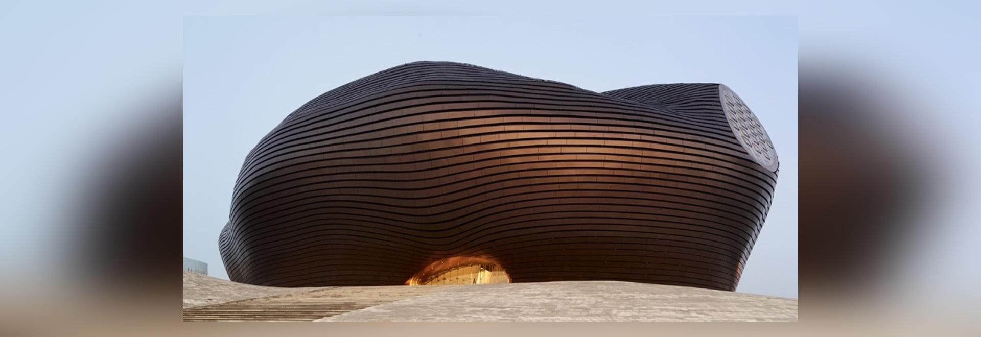 Art d'Ordos et musée de ville par les architectes FOUS
