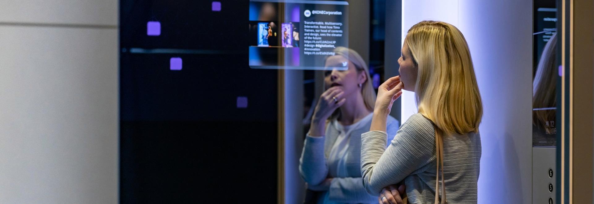 Les ascenseurs de classe DX de Kone seront super connectés.