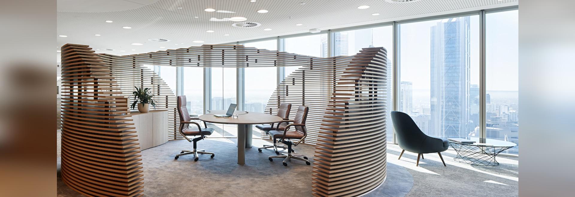 Belles perspectives pour le bien-être sur le lieu de travail : le siège de Woodside mise sur une conception globale de la durabilité et de la santé. Photo : © Shannon McGrath