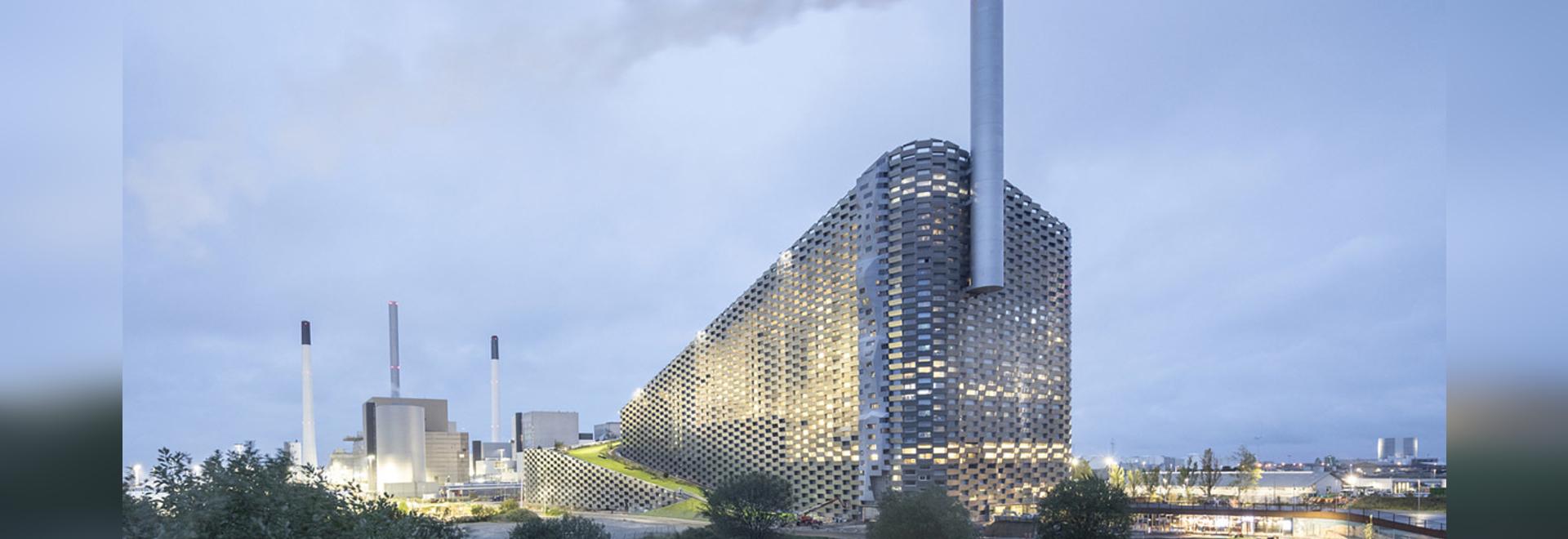 """Copenhague : Une """"GRANDE"""" centrale électrique au Danemark"""