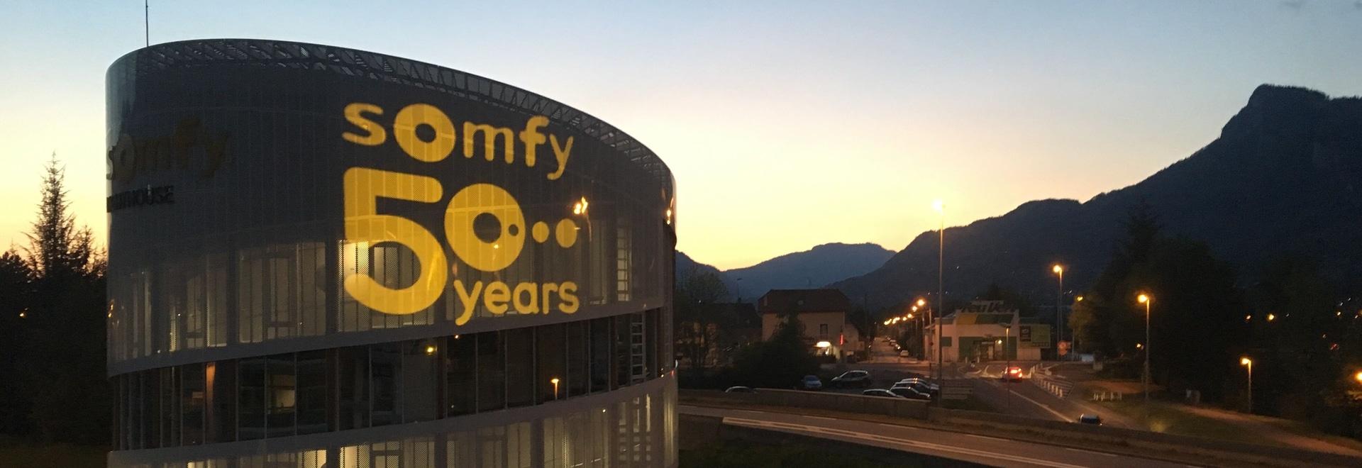 Le Divum pour les 50 ans de Somfy