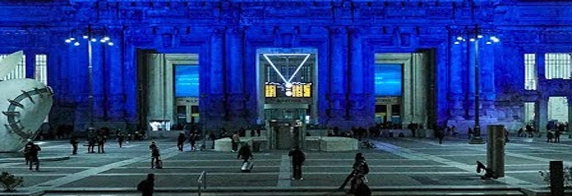 Ermenegildo Zegna à la Gare Centrale de Milan