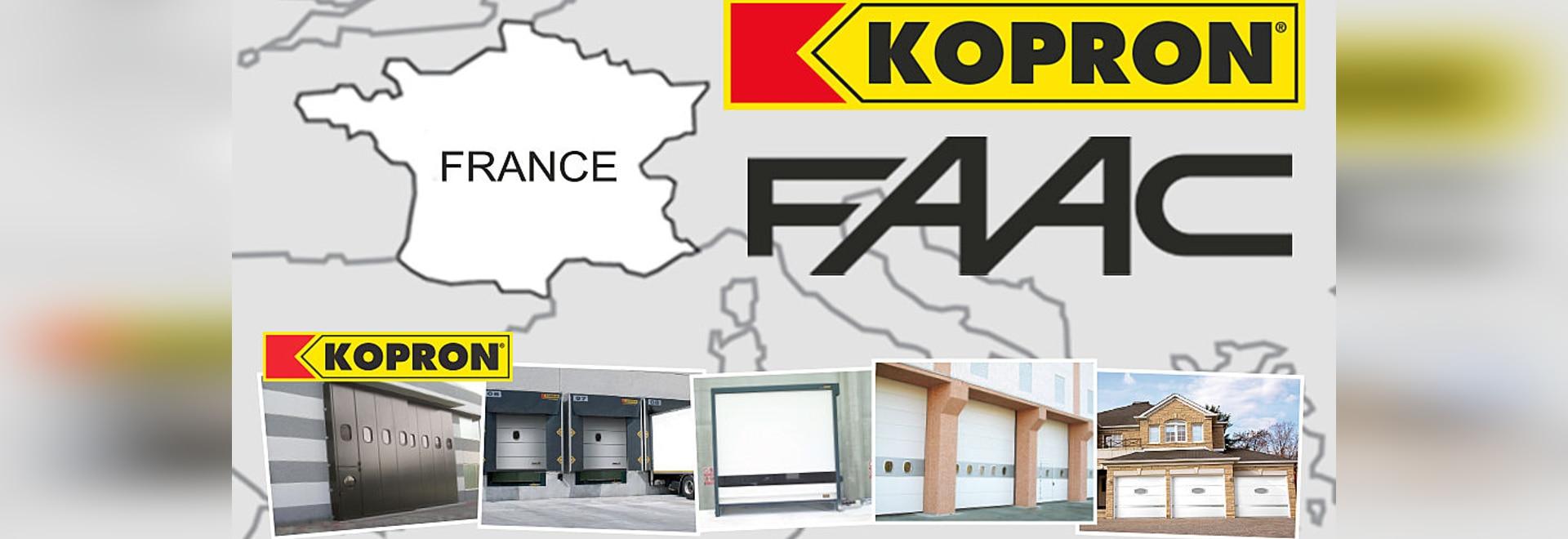 FAAC France et KOPRON France
