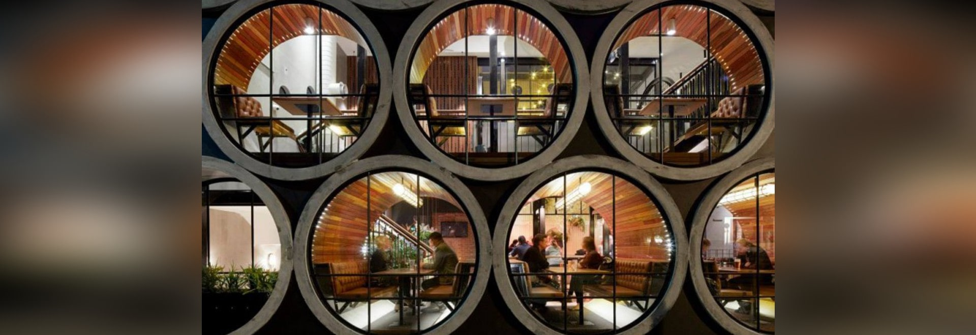 Hôtel de Prahran à Melbourne, Australie (conception de Techne Architects)