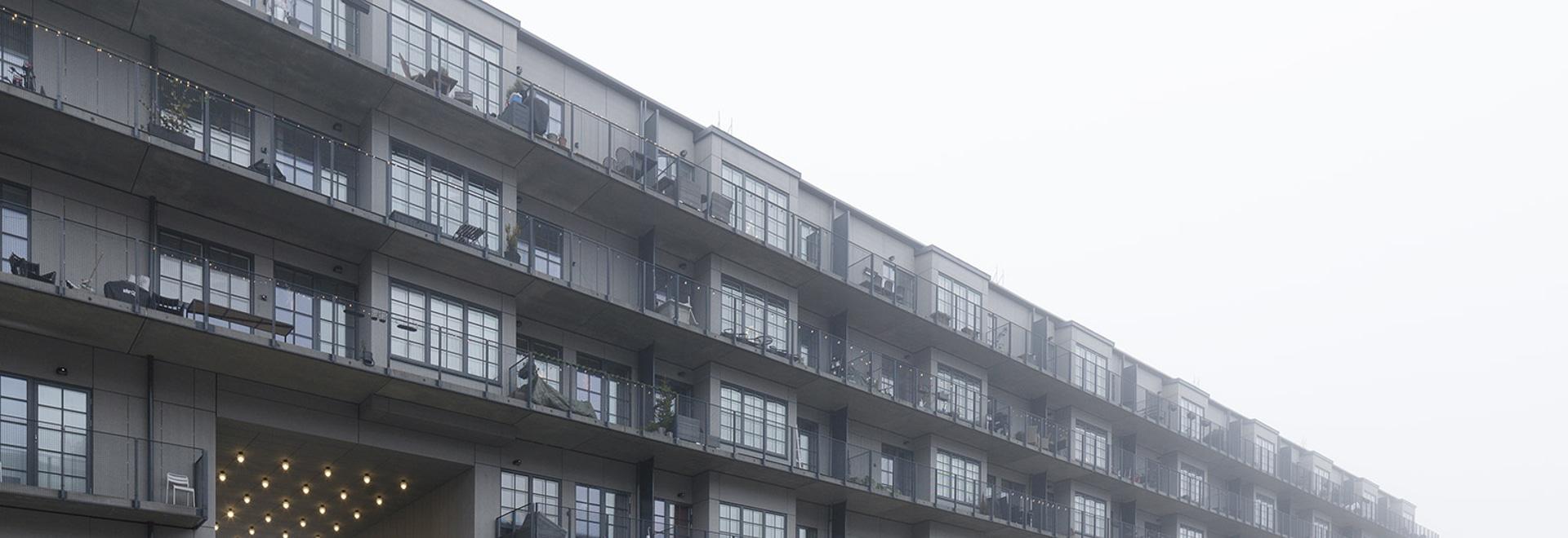 Immeuble d'habitation