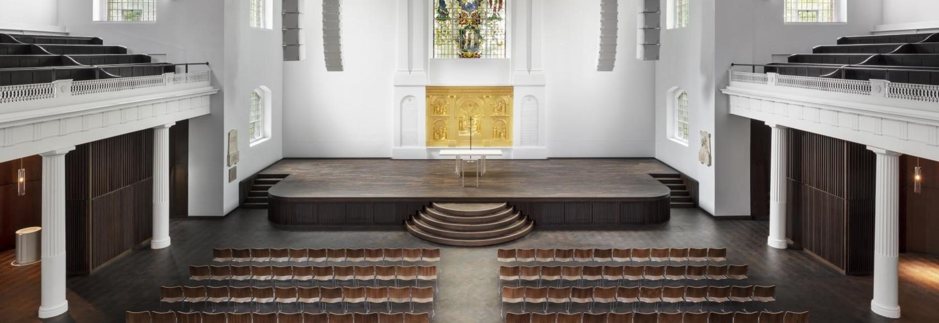 John Pawson dirige le réaménagement de St John à l'église Hackney de Londres
