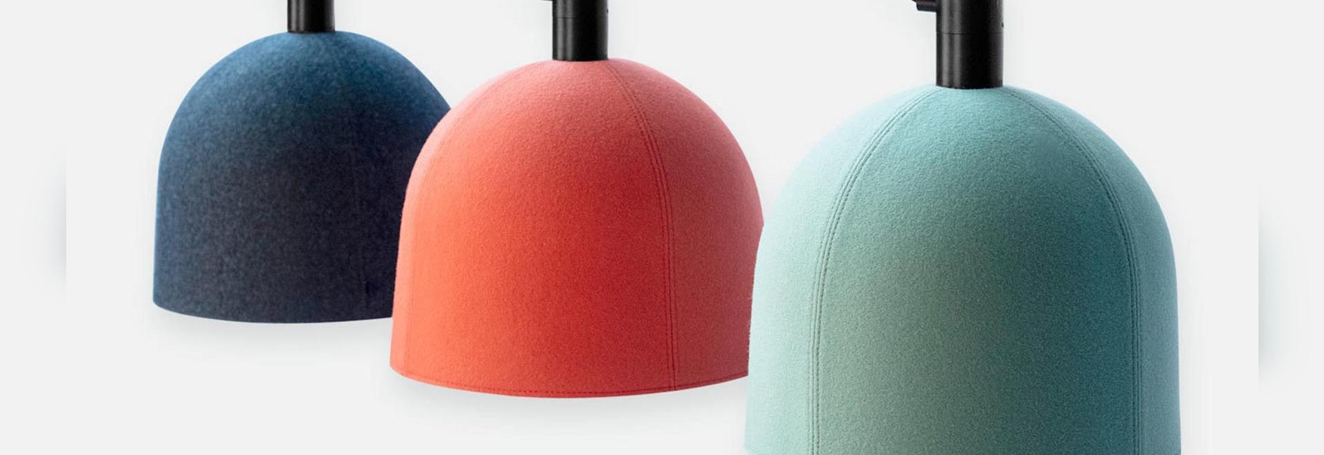 Luxxbox conçoit un solide éclairage de suspension acoustique pour le casque