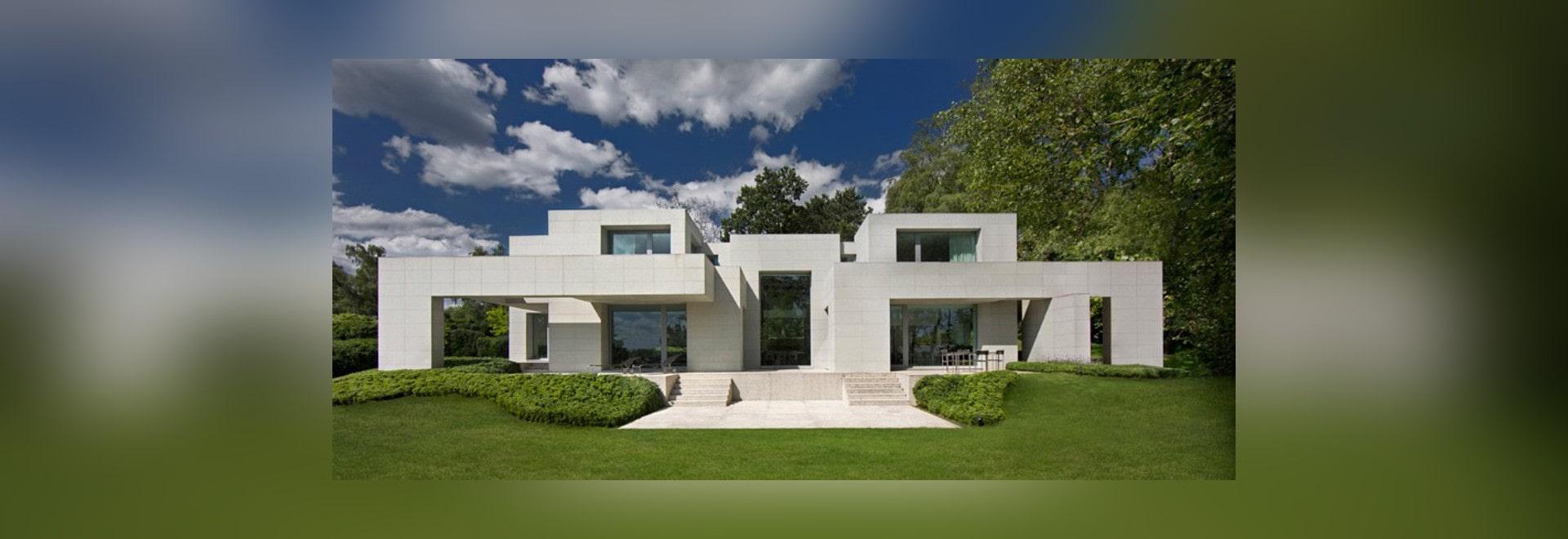 La maison de DS par des architectures olivier de dwek renverse les règles de la symétrie