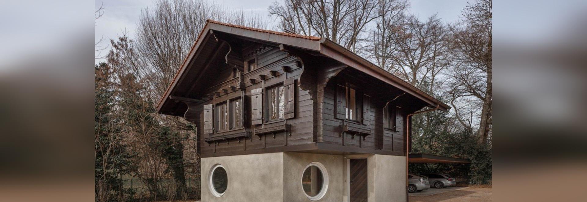 """La maison de M. Barrett. Une maison """"cousue"""" et conçue de l'intérieur"""