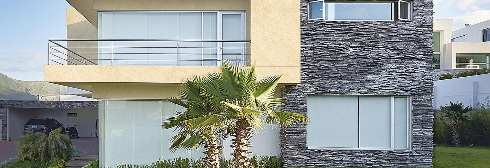 MINERALS Design - Panneaux en aluminium composite et tôle pour une architecture de style traditionnel