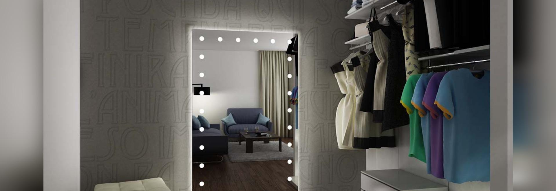 Miroirs éclairés UNICA