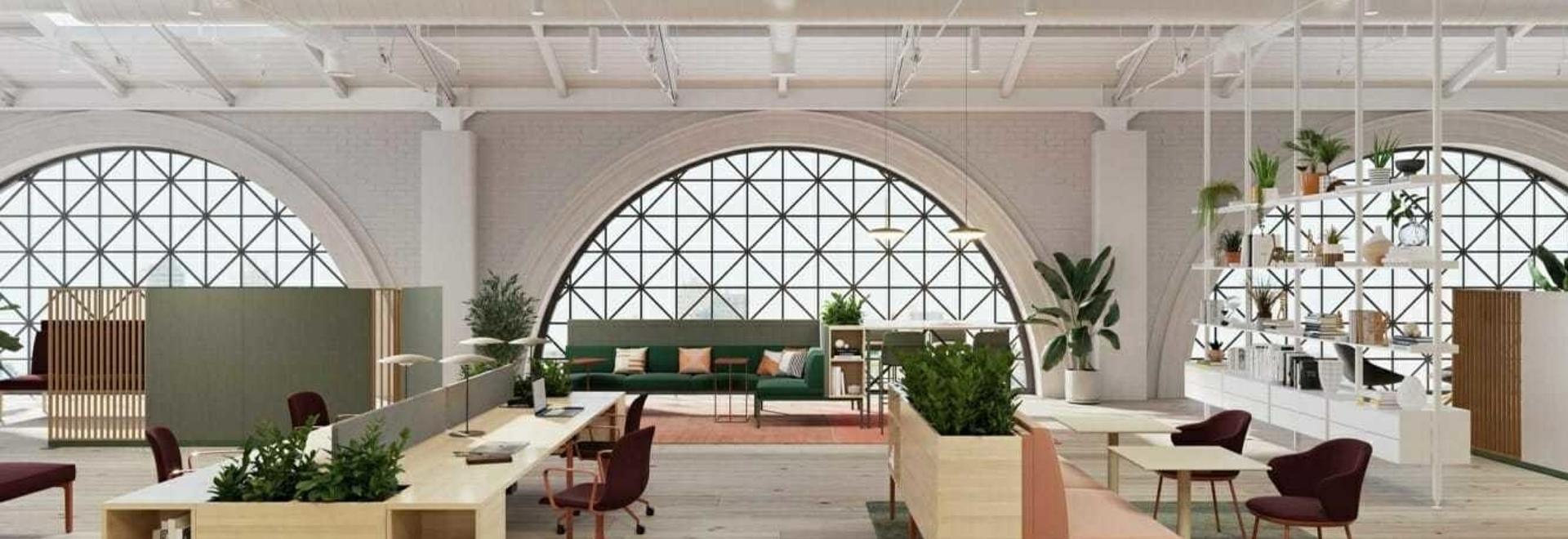 Le mobilier modulaire de Stylex répond au futur lieu de travail