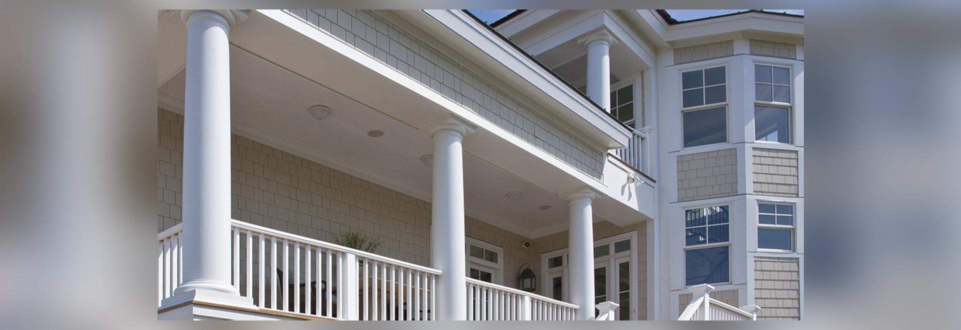 NOUVEAU : Bâti de PVC par des produits de bâtiment d'AZEK