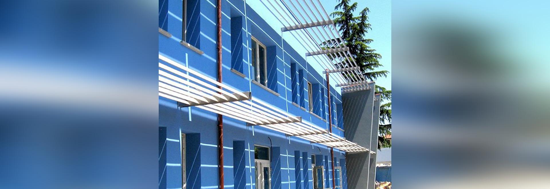NOUVEAU : ombrage solaire en aluminium par le GROUPE S.R.L. de MAPIER.