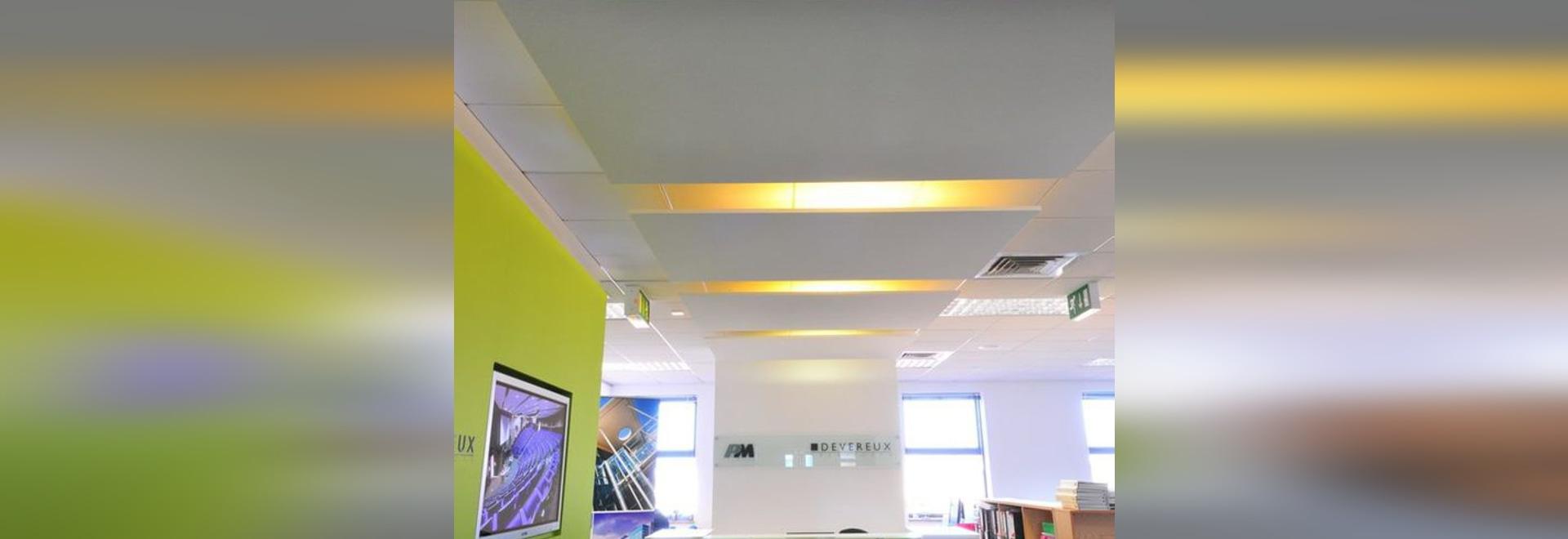 NOUVEAUTÉ : faux-plafond acoustique by Armstrong ceilings - Europe