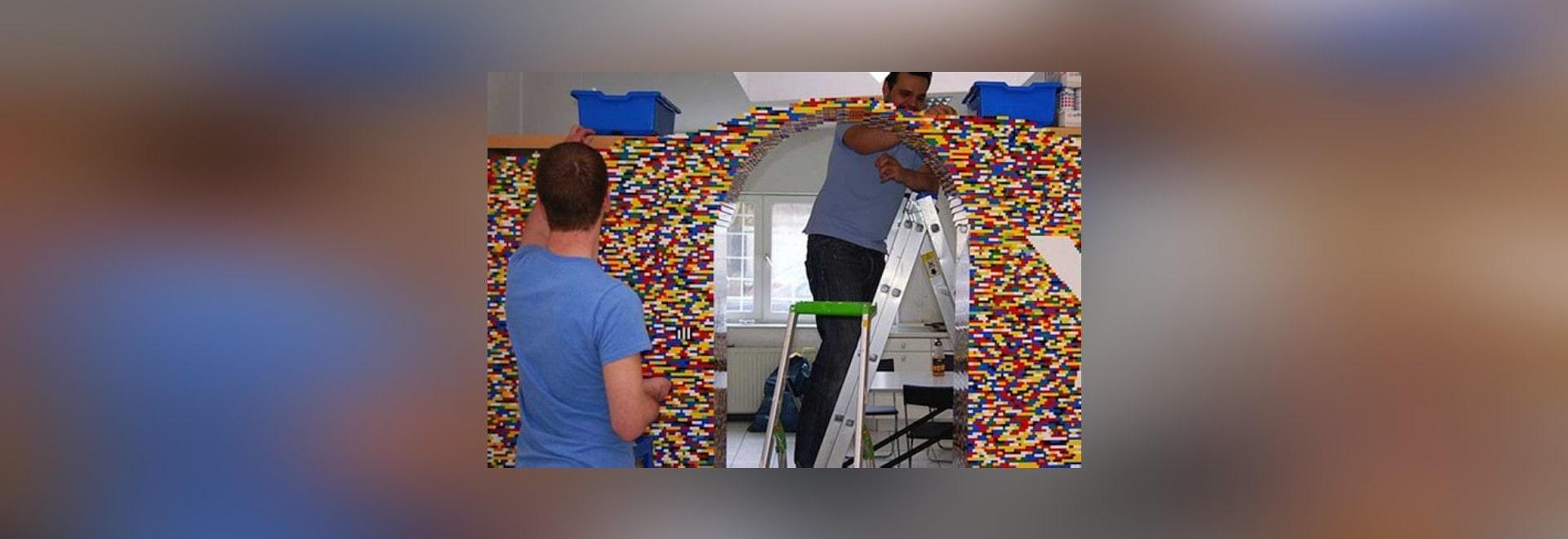 Creer Un Mur Photo npire emploie 55.000 legos pour créer un mur génial de