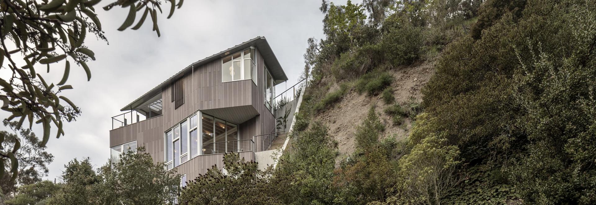 öko skin dans les falaises de Californie