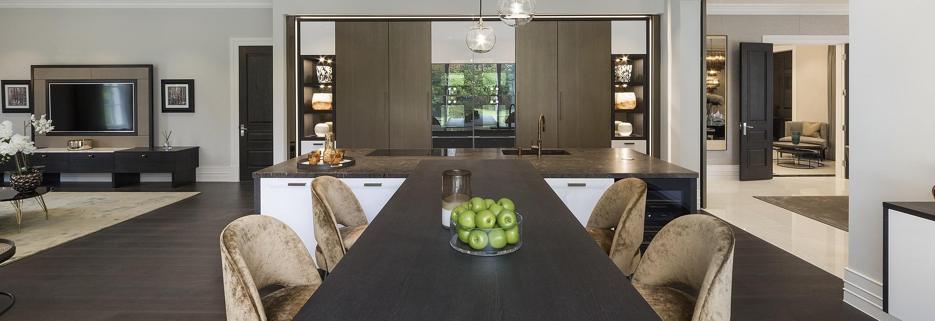 Projet exclusif living&dining à Londres