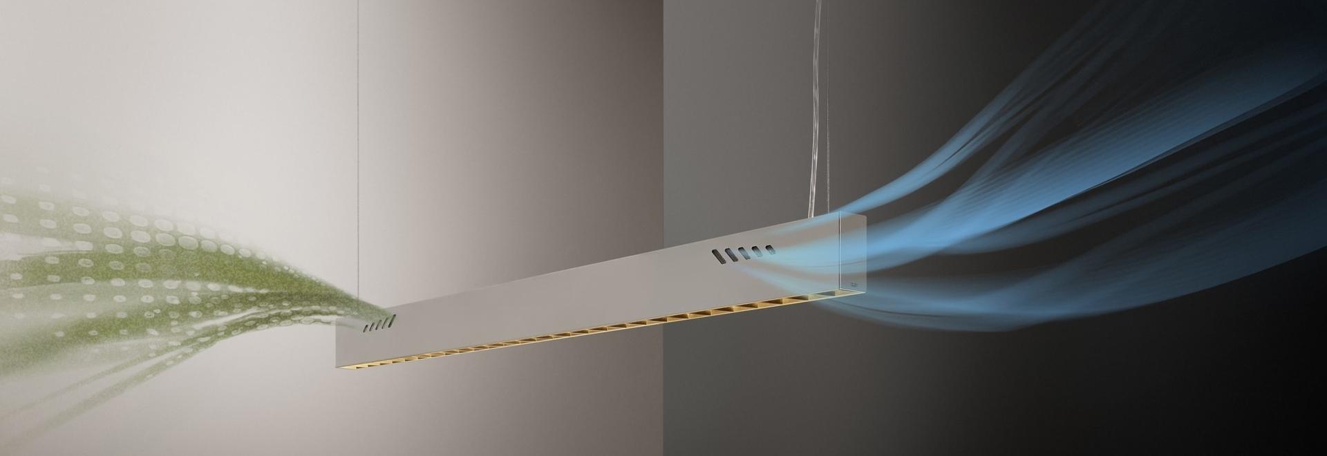 Pure BioAir, une lampe d'Olev qui assainit les intérieurs. Avec l'aimable autorisation de Olev