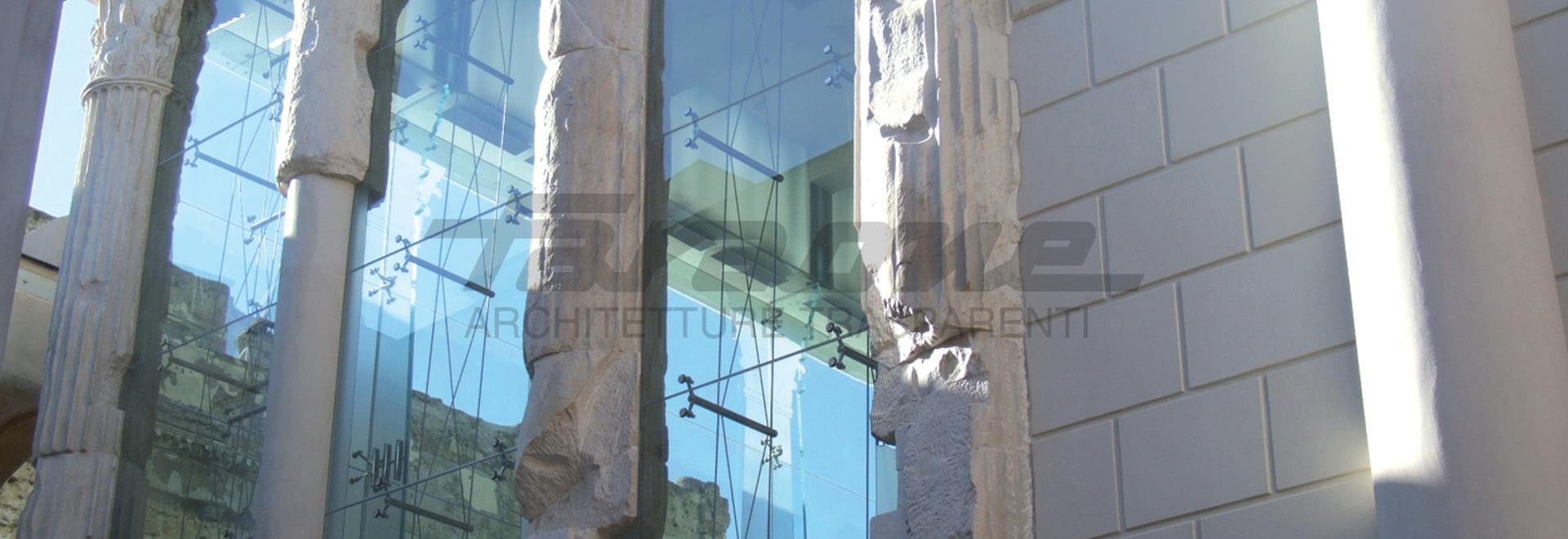Restauration «temple de temple d'Augustus». Pozzuoli, Naples. L'Italie