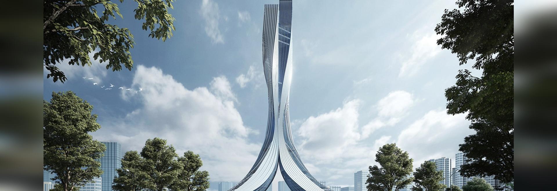 RMJM a été choisi pour concevoir la tour de la porte de Xiangjiang dans le Hunan, en Chine