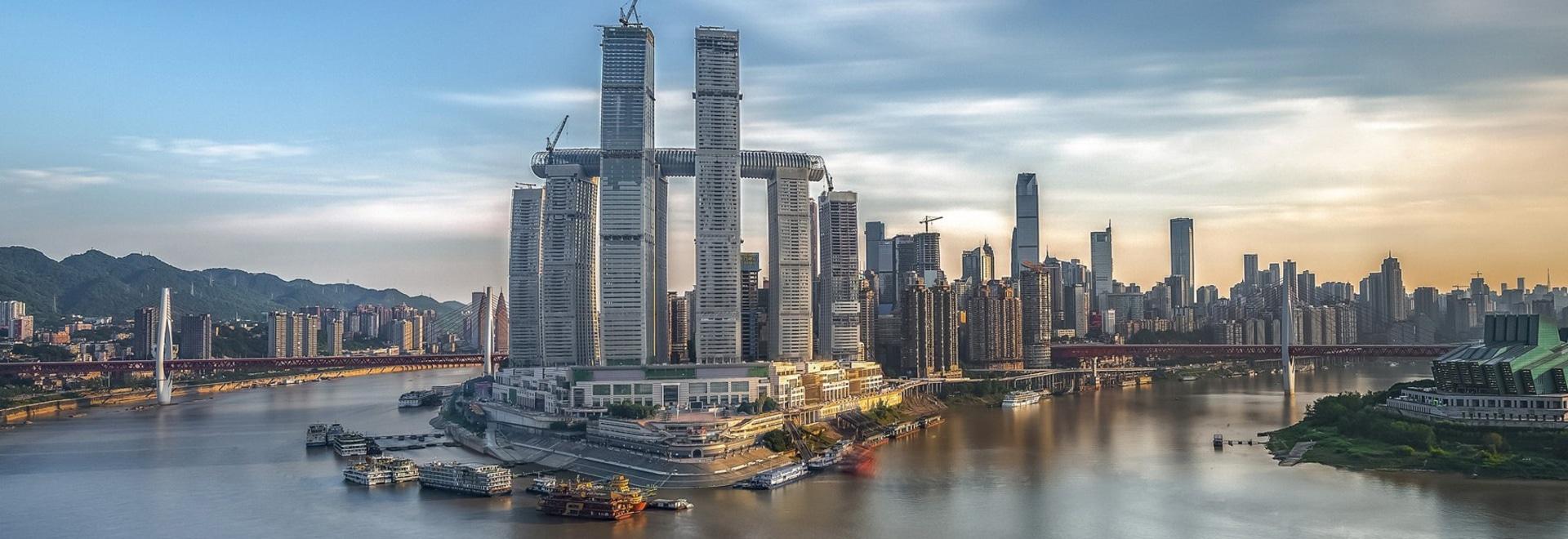 safdie architects' monumental'raffles city chongqing' commence son ouverture progressive en chine