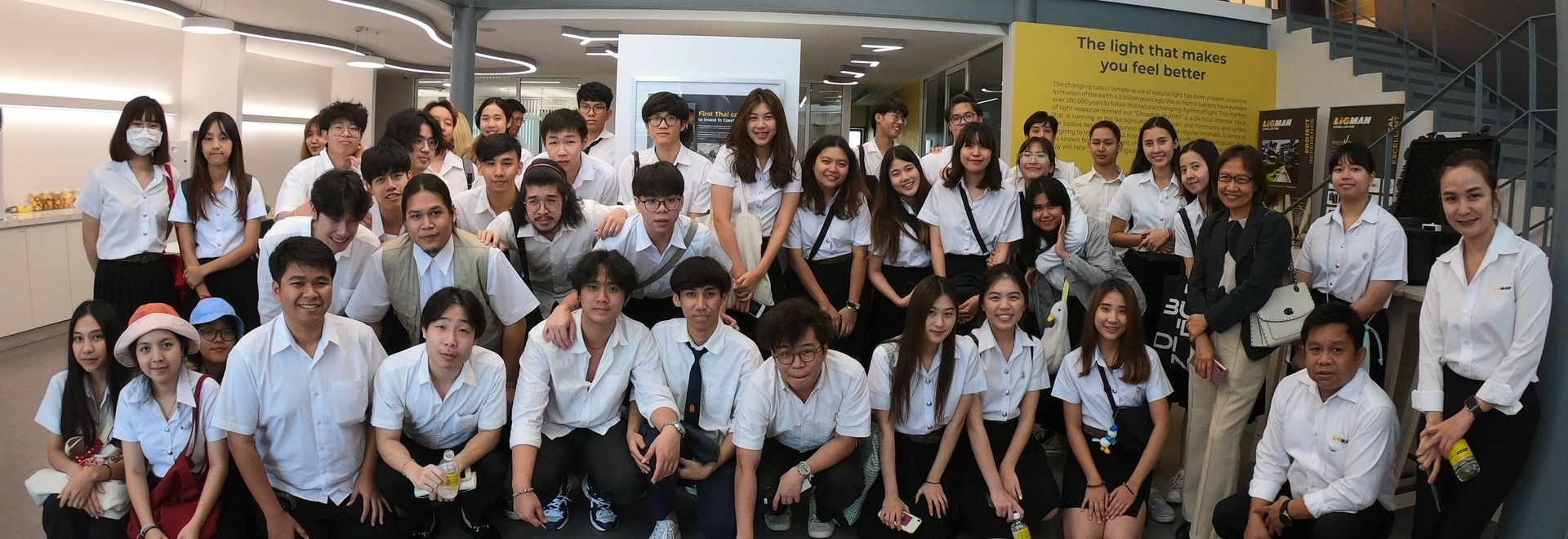 Séminaire d'éducation - École d'architecture et de design de l'Université du Roi Mongkut.