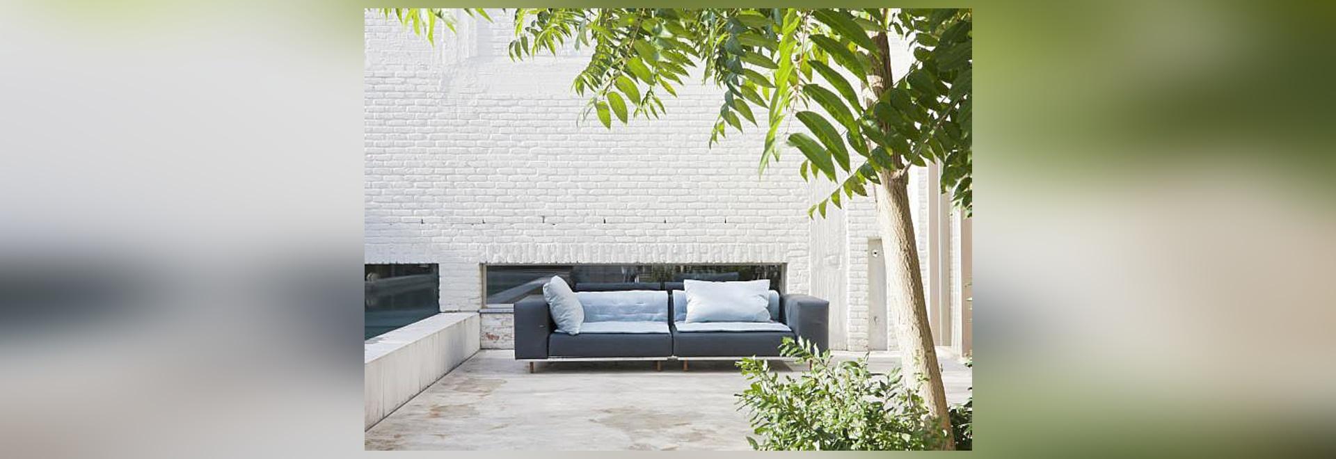 Le sofa de morse par Dirk Wynants