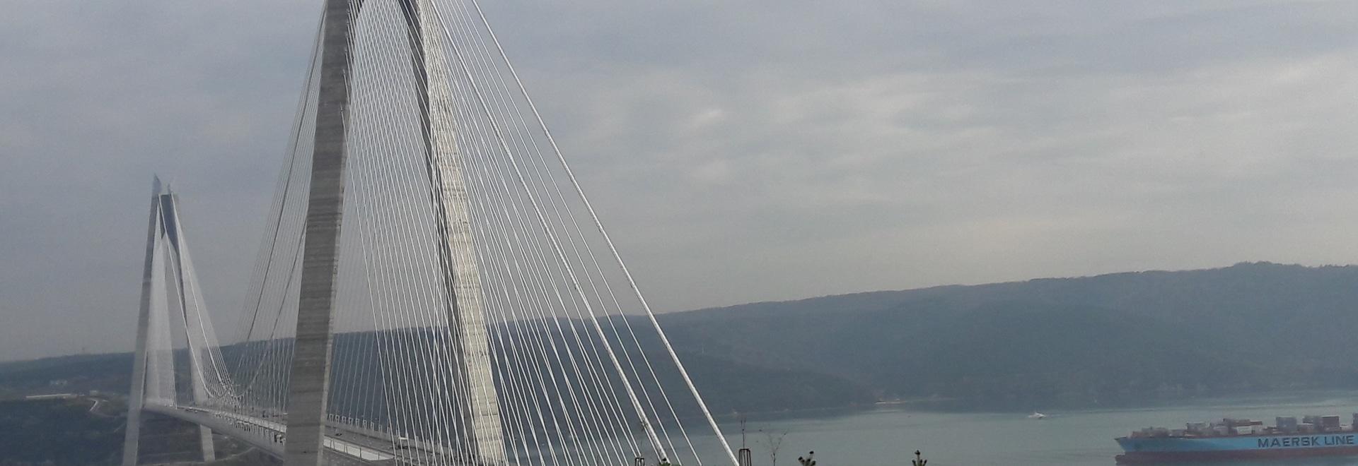 Yavuz Sultan Selim Bridge, Turquie