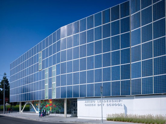 Lycée de charte de conduite de Ánimo par Brooks + Scarpa