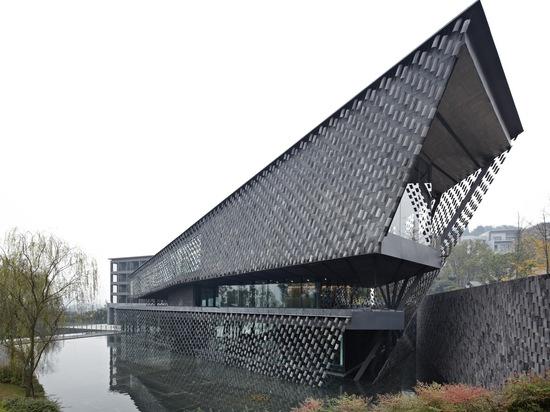 Musée de Xinjin Zhi par Kengo Kuma et associés