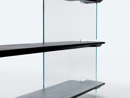 Collection de meubles de Highline pour Glas Italie