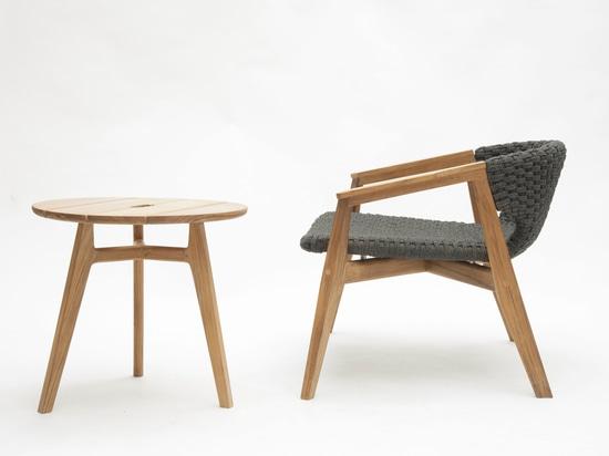 Chaise de Knit pour Ethimo