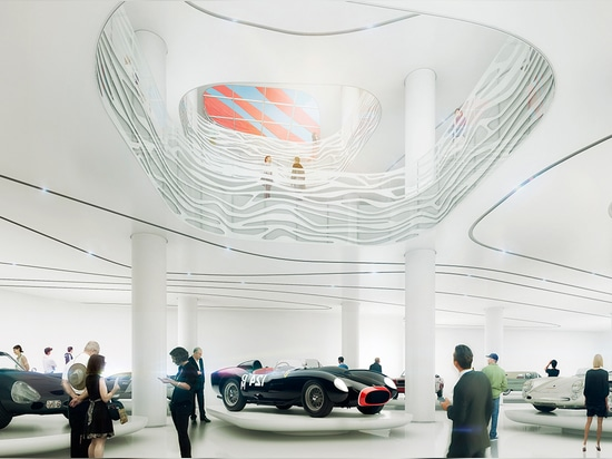 Le musée est consacré à l'art, expérience, culture et l'héritage de l'automobile a lu plus chez http://www.wallpaper.com/architecture/kpf-transform-petersen-automotive-museum-in-la#IKMFqH7MUxlMUAVv.99