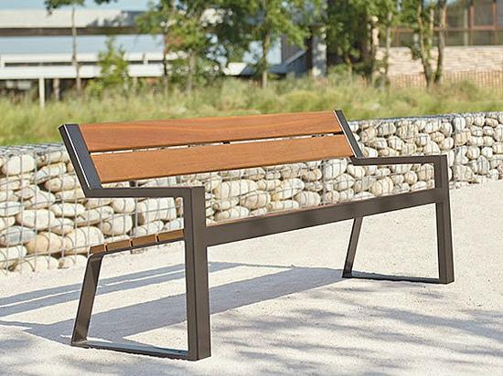 Nouveau banc et fauteuil BERLIN