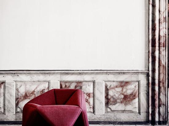 NOUVEAUTÉ : fauteuil design original by SOFTLINE A/S