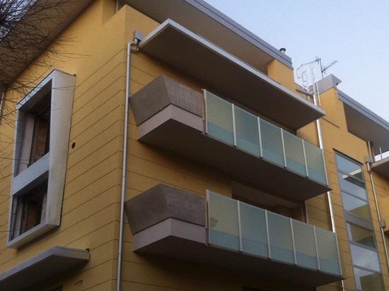 NOUVEAU : balustrade extérieure par le GROUPE S.R.L. de MAPIER.