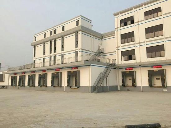 Chargement de Kopron/systèmes de déchargement pour améliorer des approvisionnements alimentaires à l'université de Changhaï