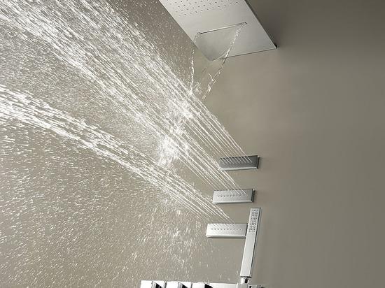 TRES BLOCK SYSTEM®. Des robinets thermostatiques encastrés qui marqueront la tendance