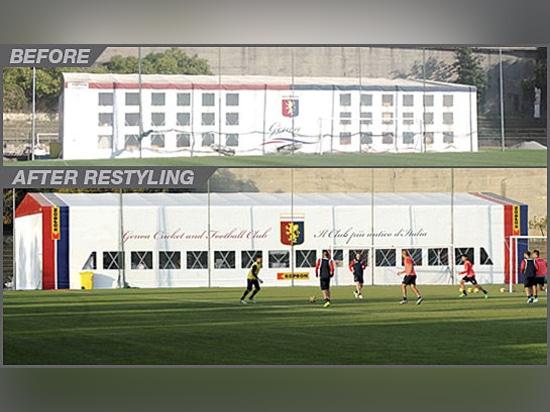 Kopron nouveau fournisseur officiel de Gênes CFC, le Club de foot le plus vieux d''Italie