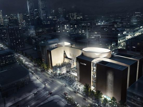 Centre de musique massif par les travaux alliés programmés pour s'ouvrir dans le courant de l'année à Calgary