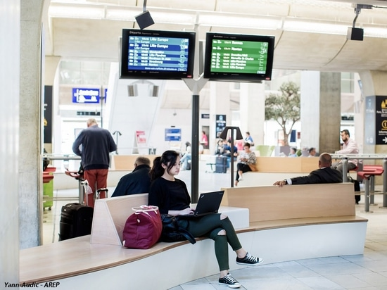Aménagement en Gare Roissy-CDC