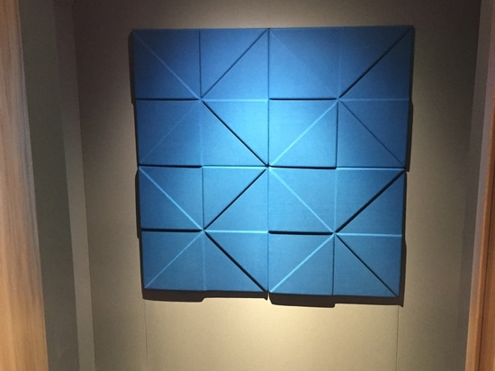 NOUVEAU : panneau d'absorption saine de polyester par Soundtect