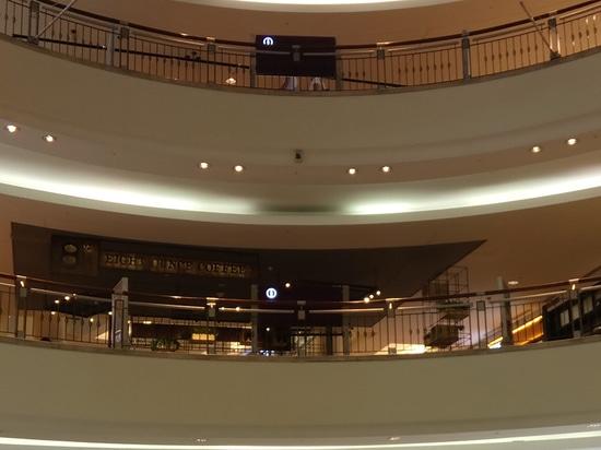 Downlight optique profond de réflecteur de Darklight pour le centre commercial