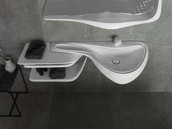 C'est ce qui seront les salles de bains de l'avenir comme avec des salles de bains de Noken Porcelanosa
