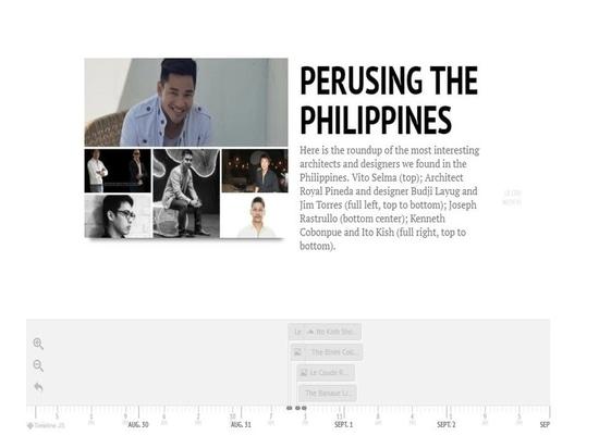 À temps : Lire attentivement les îles philippines