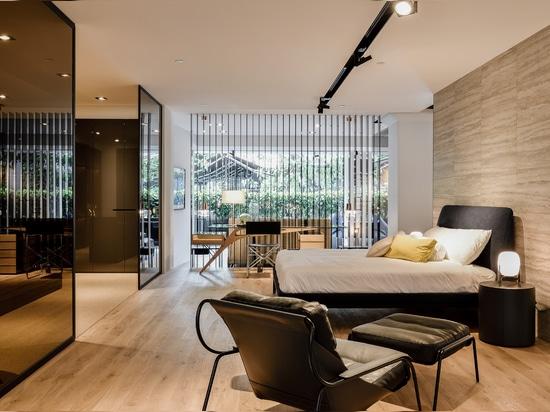 Lema double sa présence à Singapour en partenariat avec W. Atelier House
